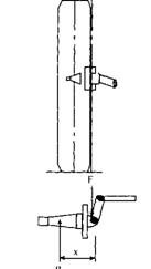A vertical wheel and king pin arrangement having