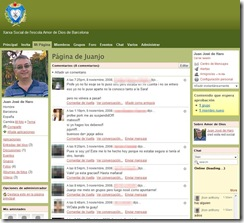Página personal en la red