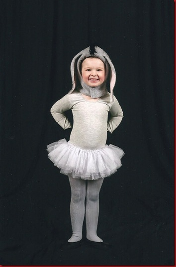 My little donkey girl, Dec 2009