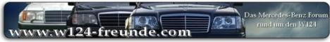 Das Mercedes-Benz Forum rund um die Baureihe W124