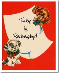 REDNESDAY button 3