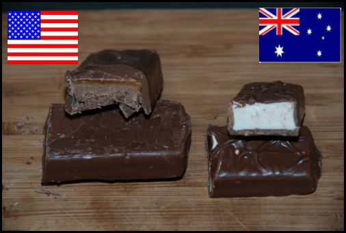 US Milky Way vs AUS Milky Way - Cross Section
