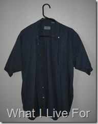 Husband's former shirt