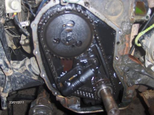 Révision d'une chaine de distribution d'une Série III essence 5 paliers  Distri%2003
