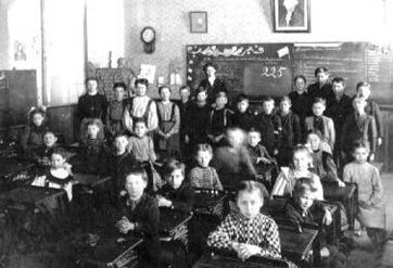 one room schoolhouse classroom