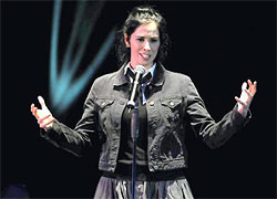 Sarah Silverman at Hammersmith Apollo