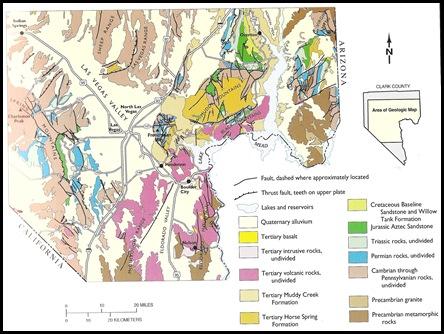 GeologicMapSouthern Nevada