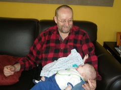 Grandpa Joe and Parker 2009-03-29 001