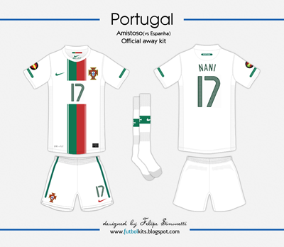 Portugal Amistoso vs Espanha