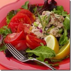 Tomato Tuna Tarragon Salad