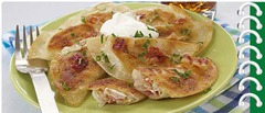 Bacon & Kraut Pierogies