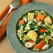 Chicken Noodle Parsnips Dill