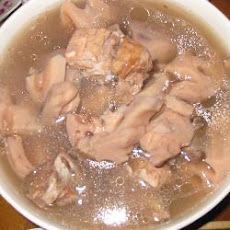 Spare Rib and Lotus Root Soup