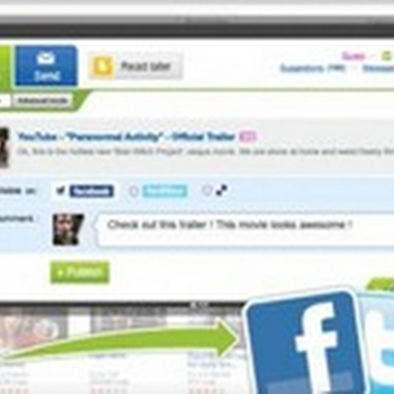 Yoolink.to, para publicar en redes sociales con un clic
