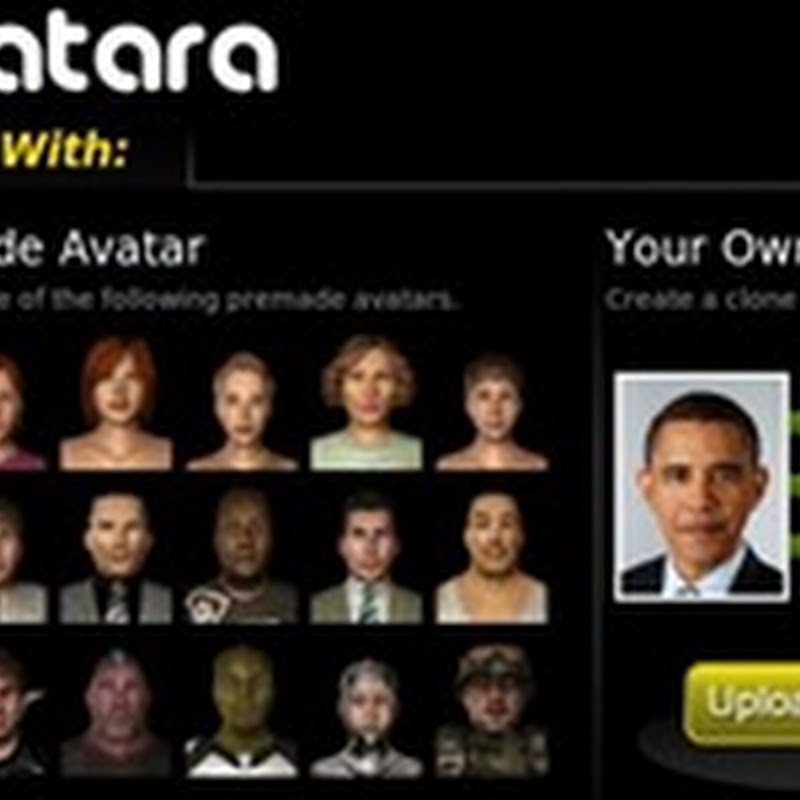 Crear un avatar 3D con Avatara