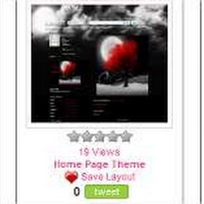 Plantillas para personalizar tu Myspace