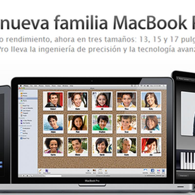 WWDC: Línea Mac rediseñada