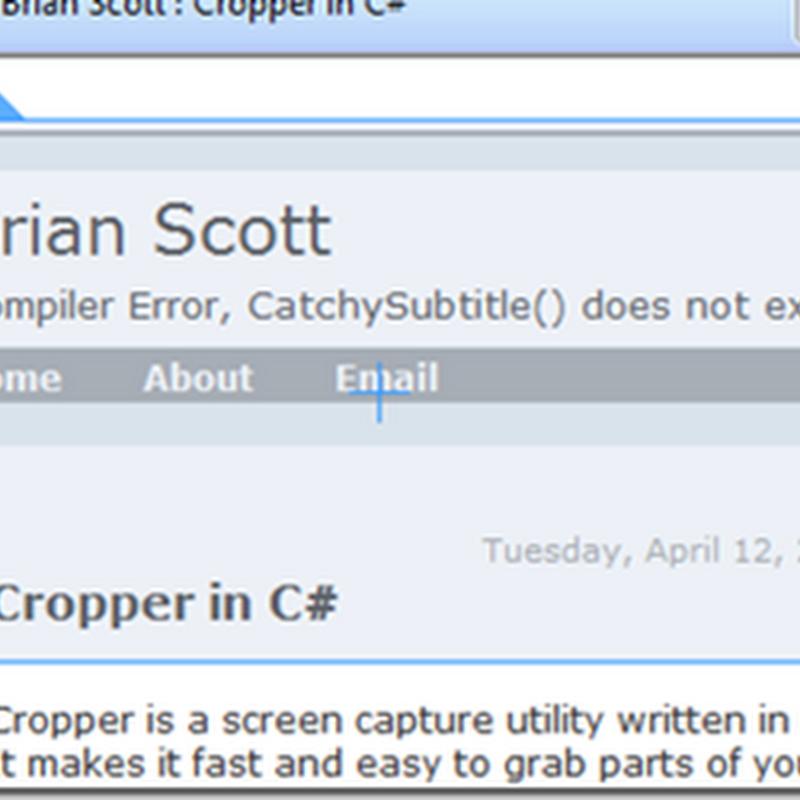 Cropper, copia y redimensiona imágenes al instante