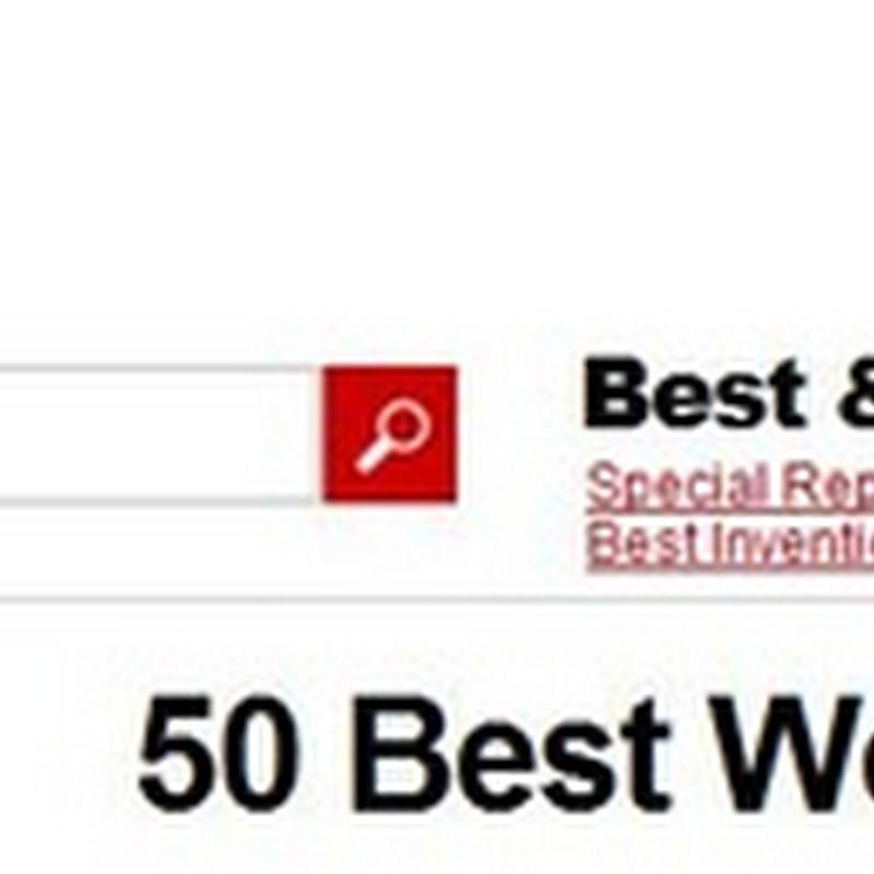 Los mejores 50 sitios del 2009
