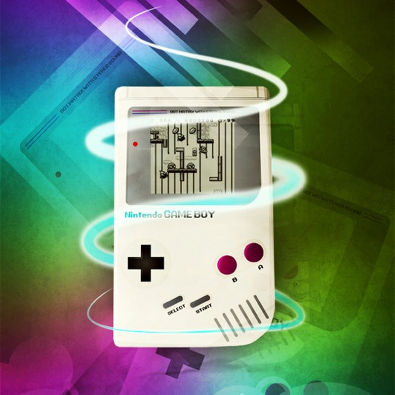 Crea un poster retro de GameBoy en Photoshop
