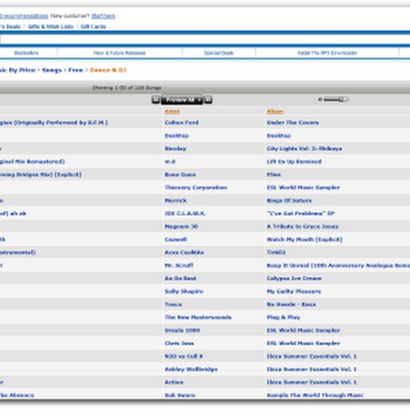 Amazon te regala 1270 canciones gratis
