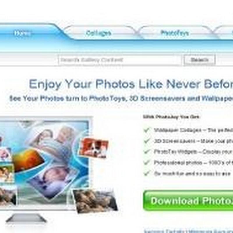 Crear wallpapers y screen savers con PhotoJoy