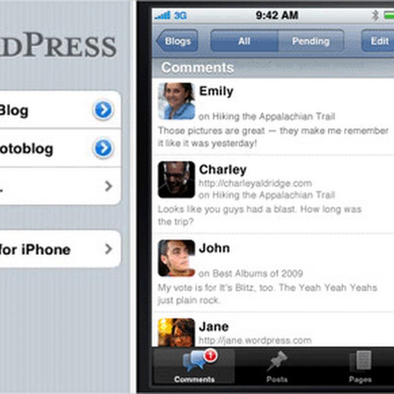 10 aplicaciones para bloguear en tu iPhone