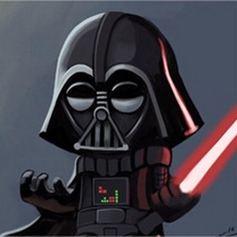 Curiosas Ilustraciones de Darth Vader