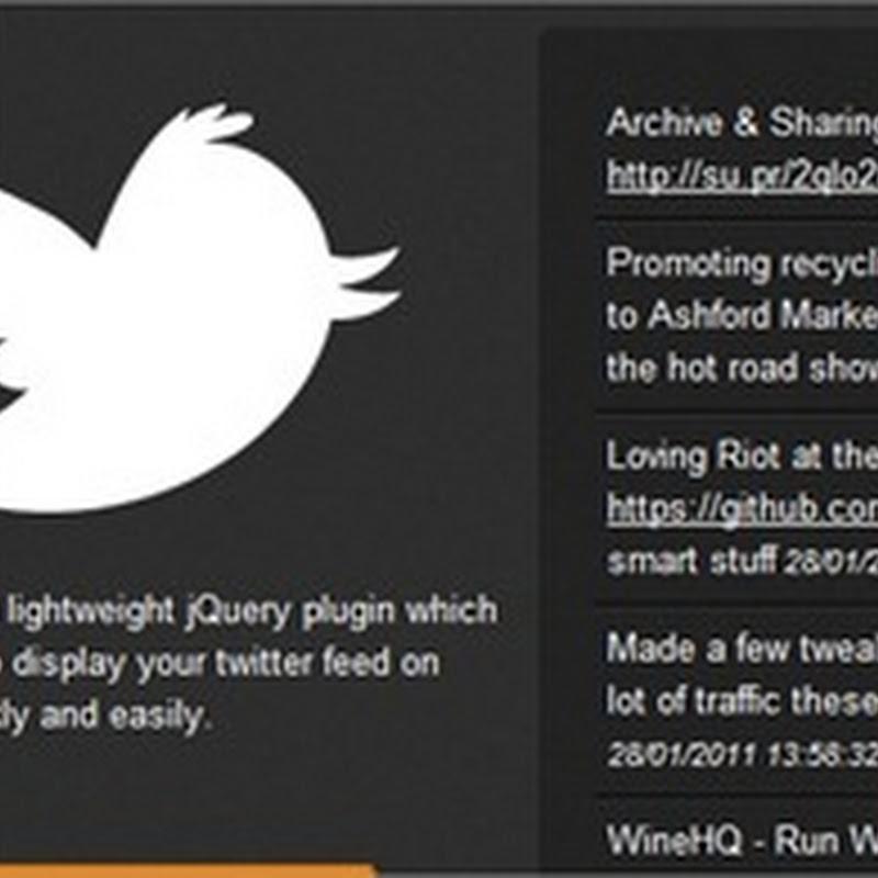 Cómo mostrar tweets en tu blog con jQuery