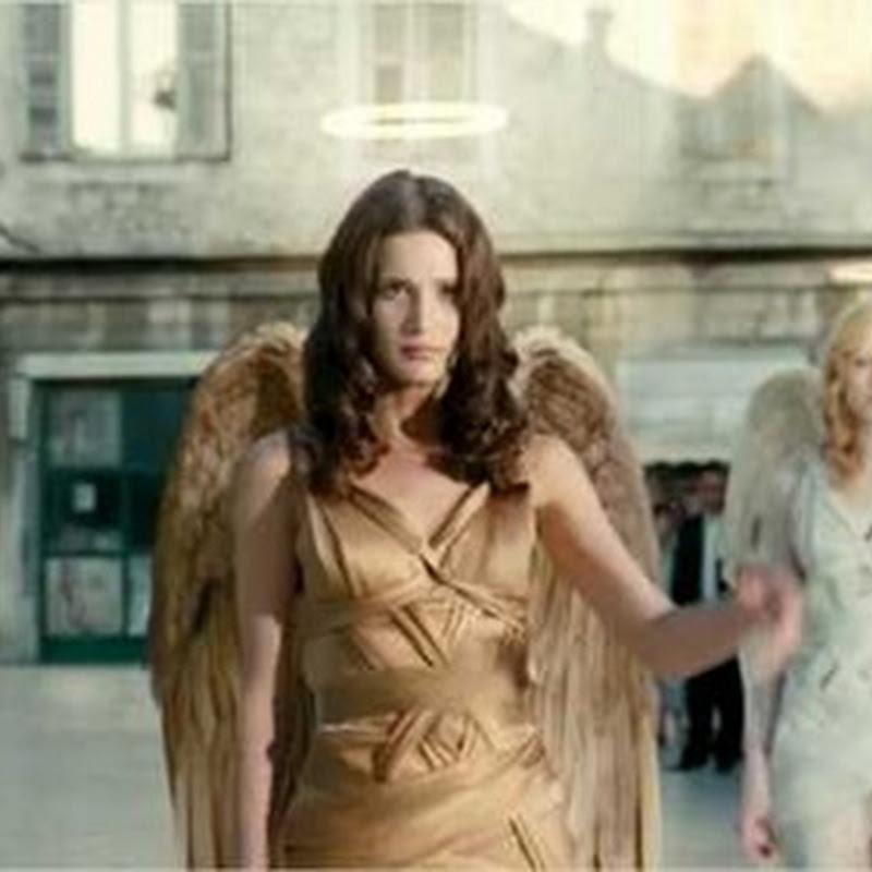 Detrás de cámara de un comercial de AXE, el de las ángeles