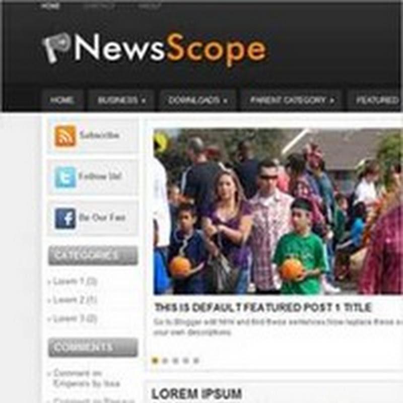 40 nuevas plantillas para Blogger para descargar