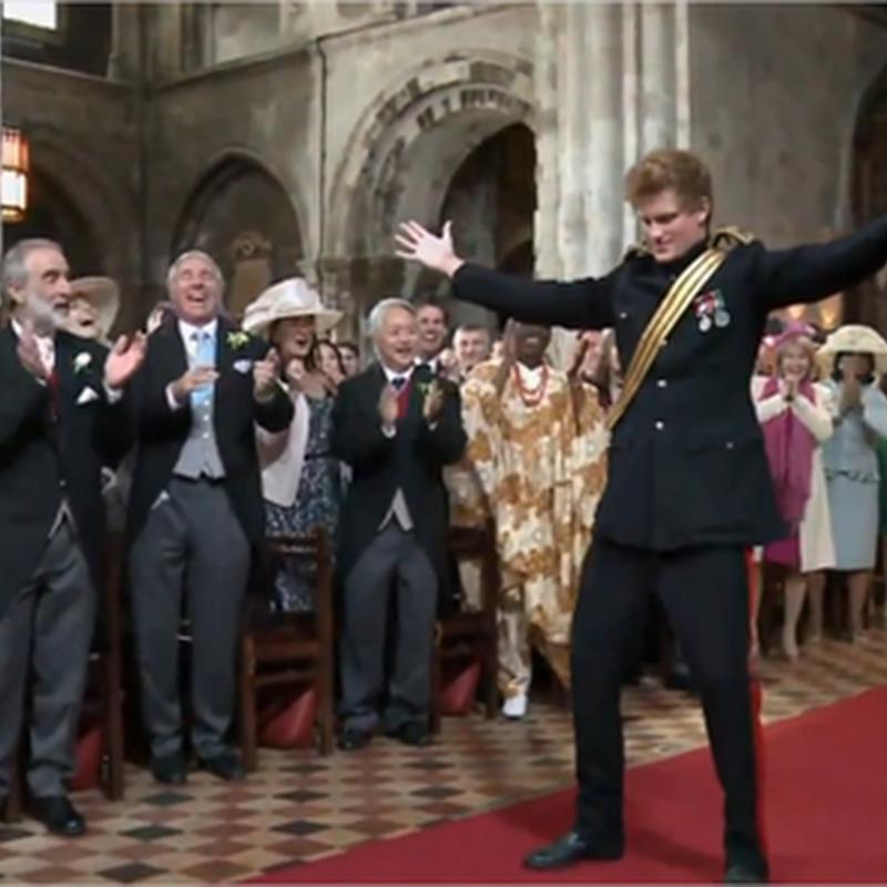 Publicidad: parodia de la boda real