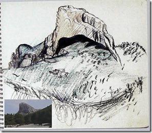 montaña le corbu