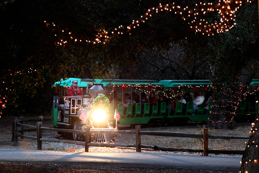 Irvine Park Railroad Christmas Train - Popsicle Blog