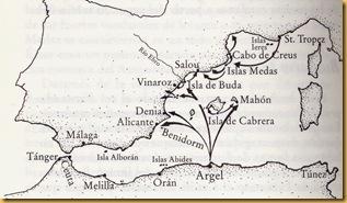 mapa berbería