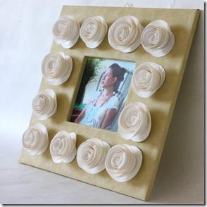 Розы рамка-13