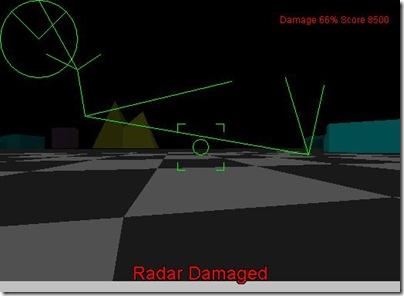 We lost the radar!