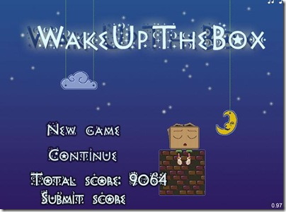 WakeUpTheBox main screen