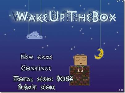 WakeUpTheBox main screen