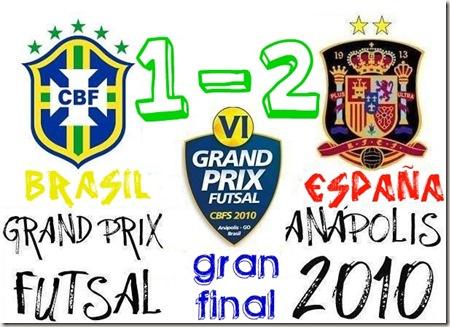 BRASIL 1-2 ESPAÑA