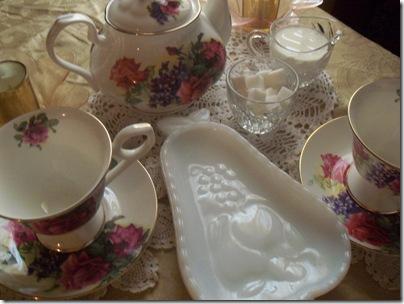 Matching teapot gift tea 018