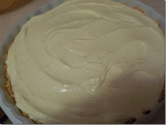 Sugar free banana cream pie 011