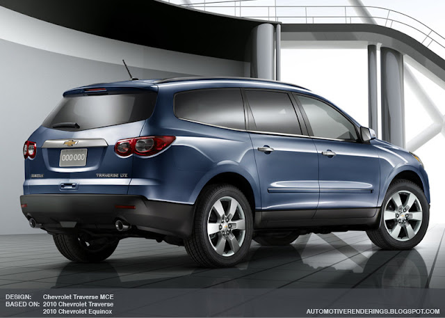 2013 Chevrolet Traverse Debuts Ahead Of NYC Show