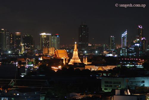 Grand Palace of Bangkok - Night Photography
