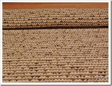 Spräcklig matta