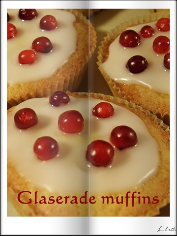 Glaserade muffins