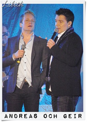 Andreas och Geir