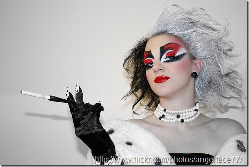 diisfraz de cruella http://www.flickr.com/photos/angelface77/