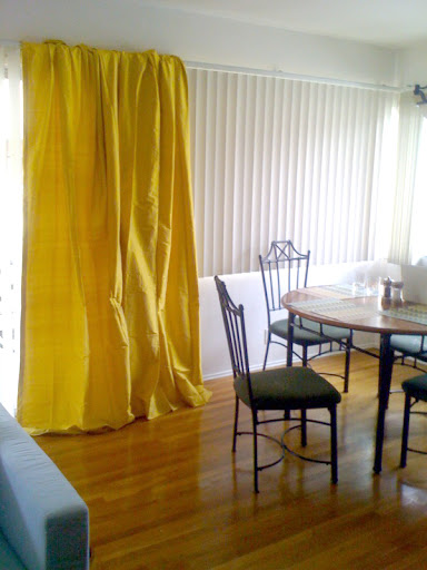 The Estate of Things chooses Yellow Curtains for the Treehouse