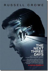 """Постер фильма """"Следующие три дня (The Next Three Days)"""""""